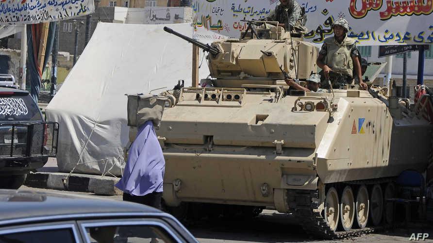 جندي مصري في العريش