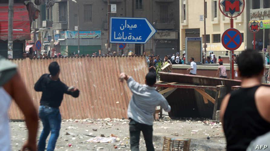 اشتباكات وسط القاهرة، أرشيف