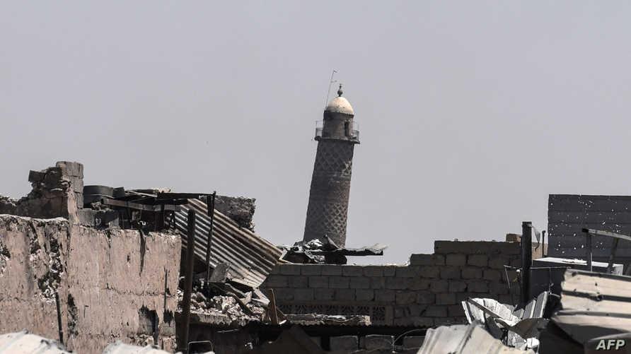 صومعة مسجد النوري في الموصل