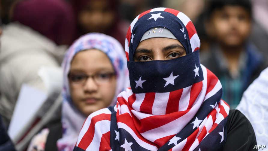 تظاهرة في نيويورك ضد الإسلامفوبيا والخطاب المعادي للاجئين عقب الاعتداءات على المسجدين في نيوزيلندا