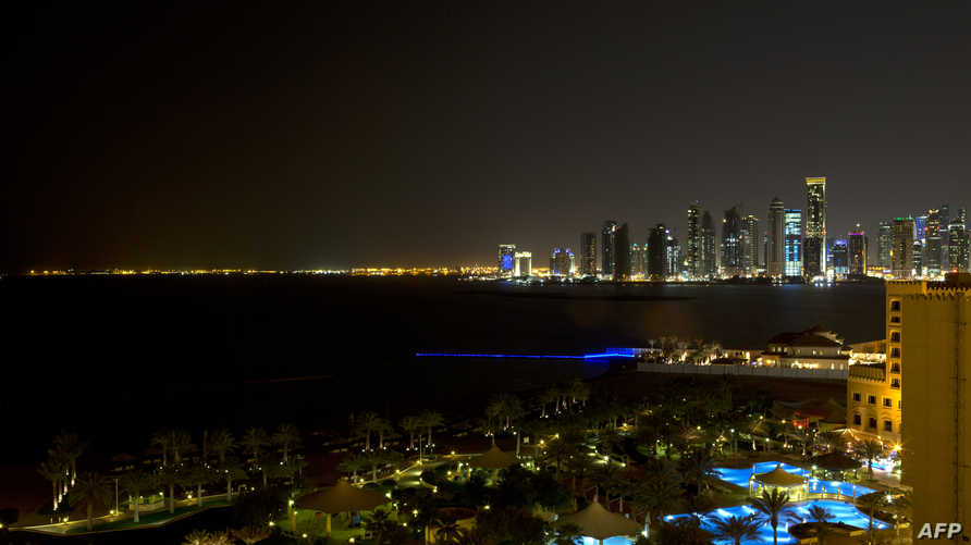 مشهد من العاصمة القطرية، الدوحة