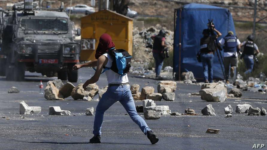 احتجاجات فلسطينية تضامنا مع الأسرى الفلسطينيين في السجون الإسرائيلية