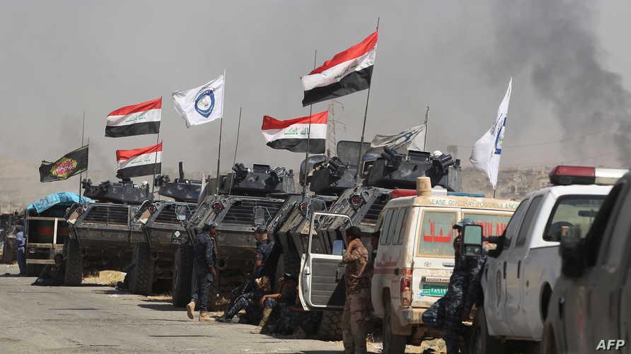 قوات عراقية في تلعفر