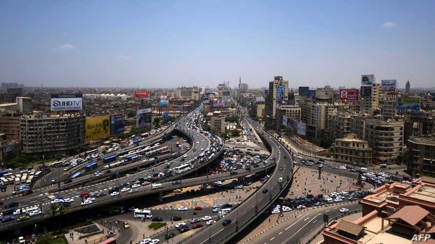 مشهد من العاصمة المصرية القاهرة