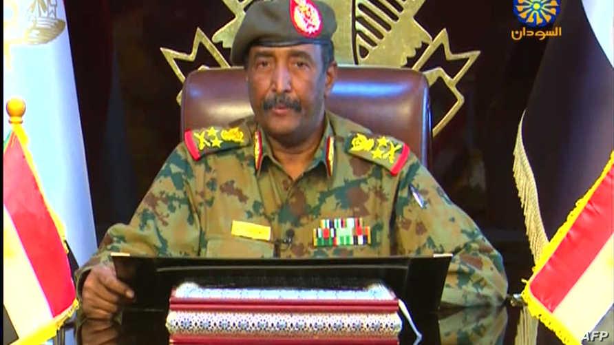 الفريق عبد الفتاح البرهان، رئيس المجلس العسكري الانتقالي