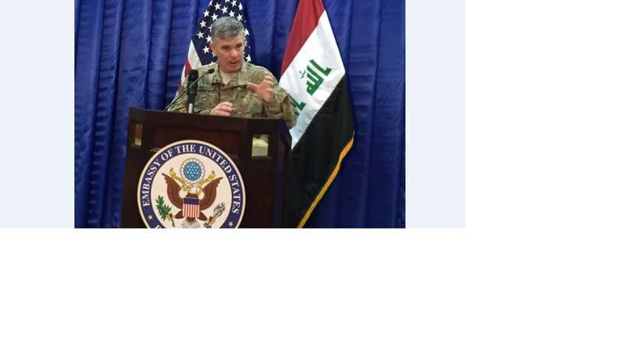 المتحدث باسم التحالف الجنرال الأميركي ستيف وارن