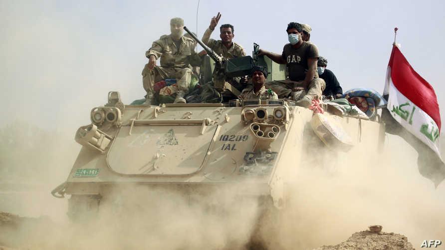 القوات العراقية تواجه تنظيم داعش