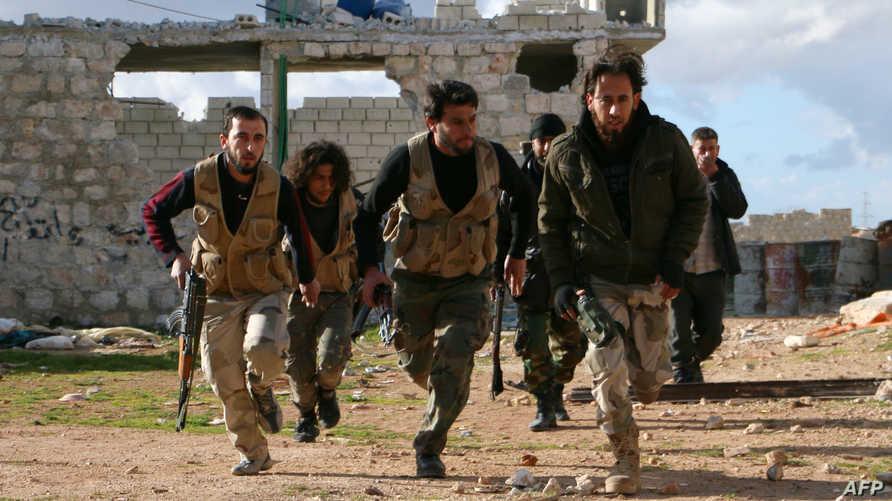 مقاتلون معارضون شمال حلب - أرشيف