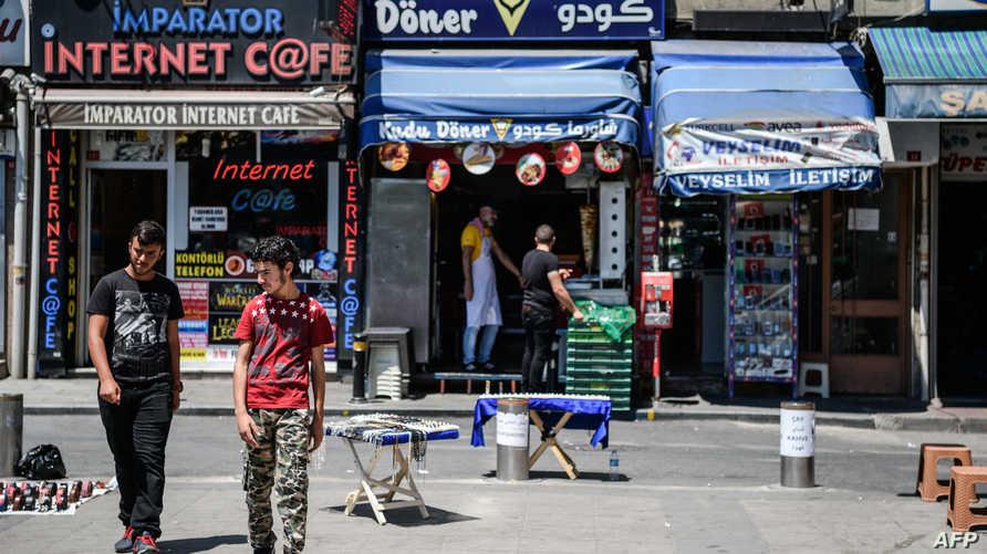 سوريون في إسطنبول /تركيا