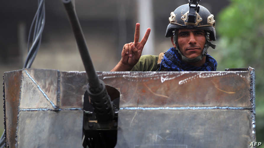 جندي عراقي غربي الموصل