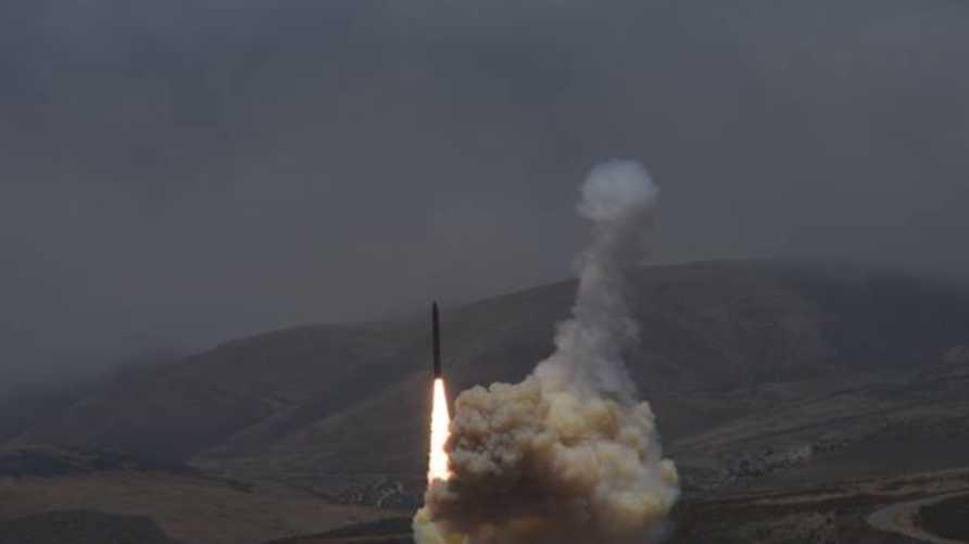 الصاروخ بعد انطلاقه (الصورة من صفحة قاعدة فاندنبرغ على فيسبوك)