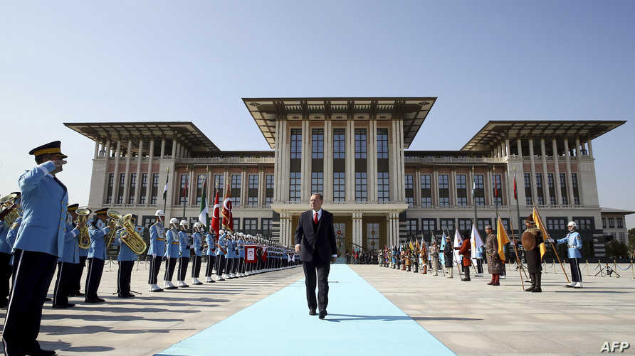 قصر إردوغان