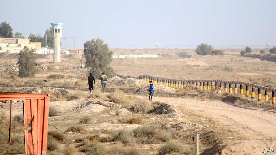 الحدود العراقية الكويتية