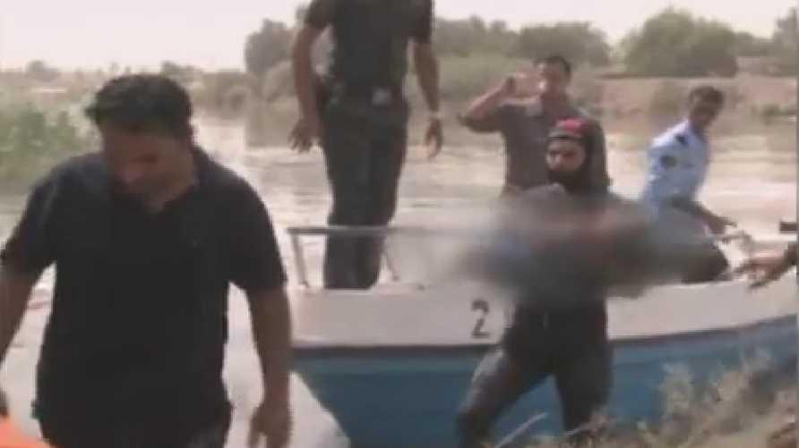 انتشال 18 جثة من نهر الفرات بعد غرق زورق أثناء الاحتفال بيوم زكريا