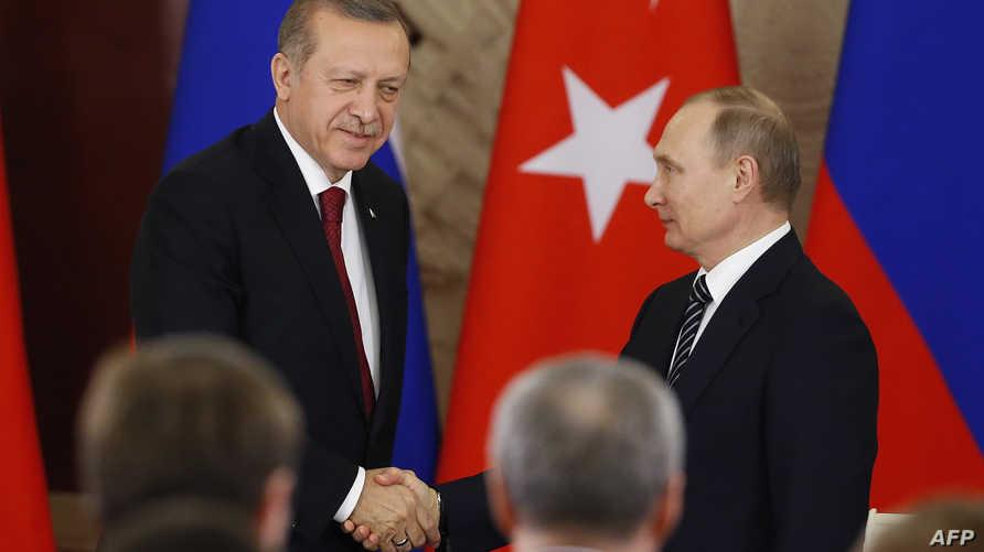 أردوغان وبوتين في موسكو