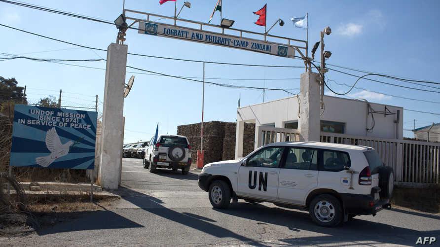 عناصر من القوات الدولية في الجولان
