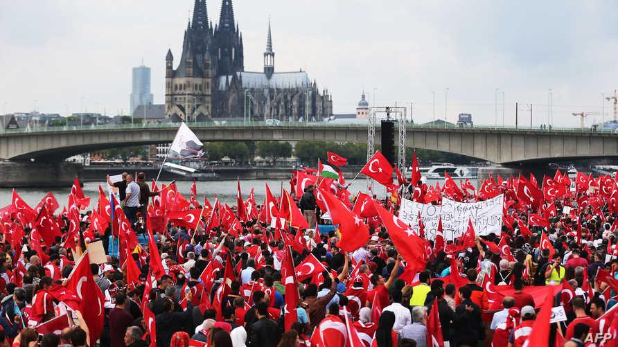 تجمع لأنصار أردوغان في ألمانيا