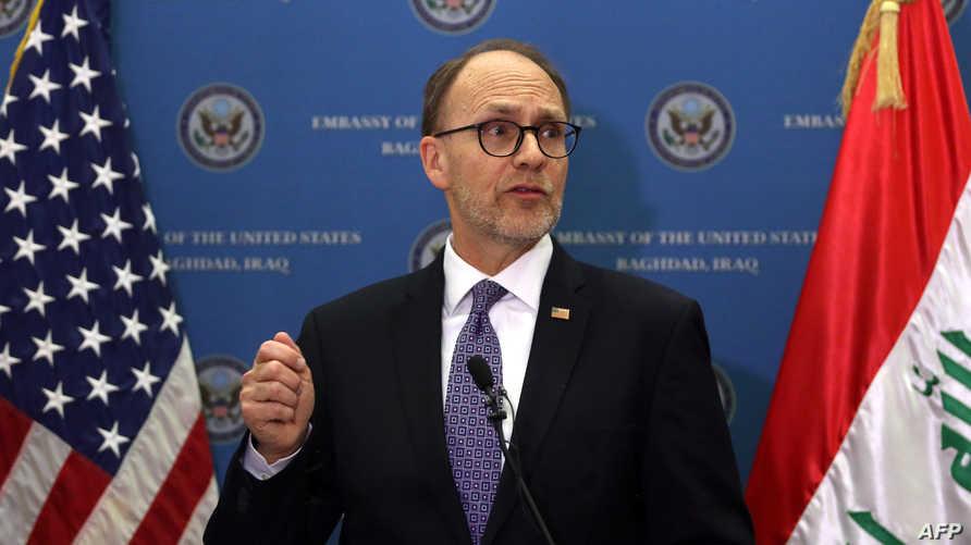السفير الأميركي لدى بغداد دوغلاس سيليمان