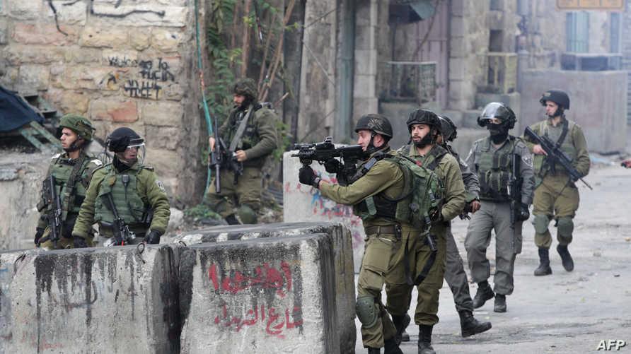 قوات إسرائيلية في الضفة الغربية -أرشيف