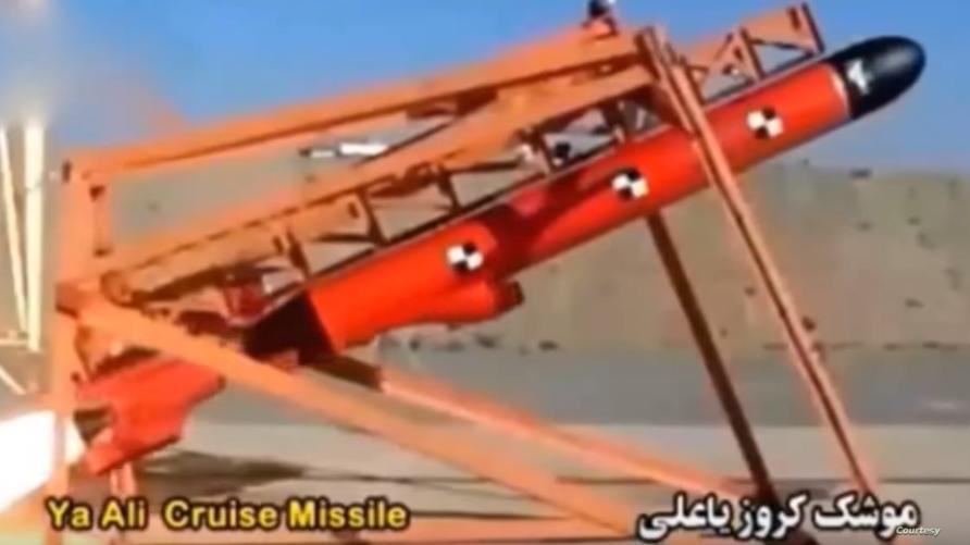 """إيران تجري اختبارا على صاروخ """"يا علي"""""""