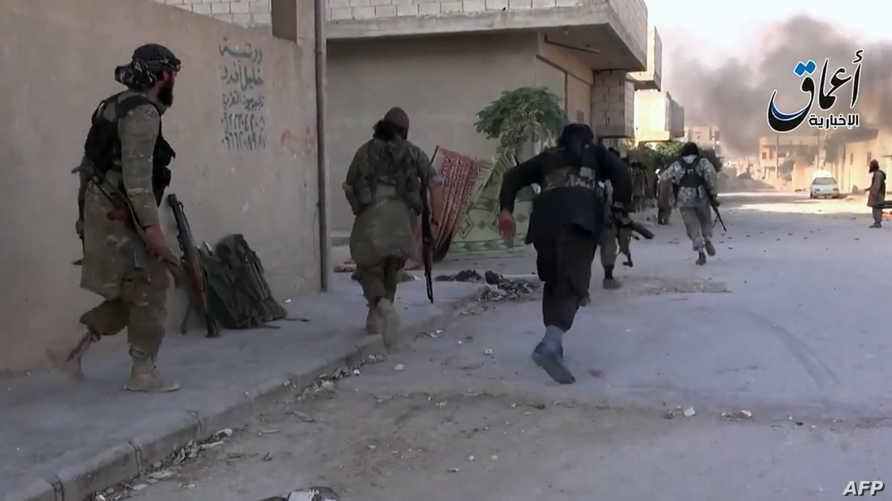 اشتداد المعارك الميدانية ضد داعش