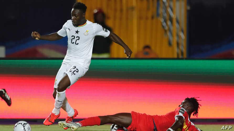 من مباراة غانا وغينيا بيساو