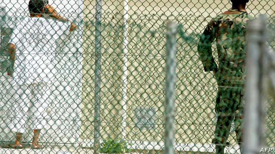 معتقل في سجن غوانتانامو