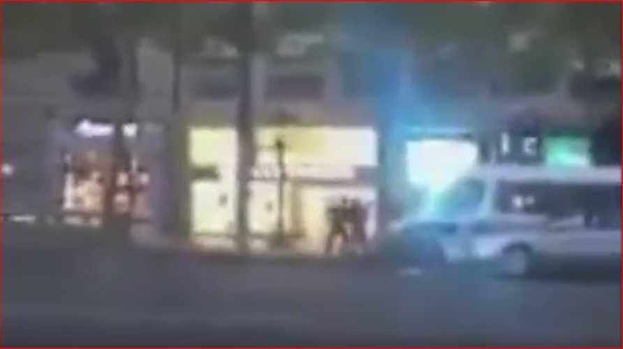 مقطع فيديو لهجوم الشانزيليزيه
