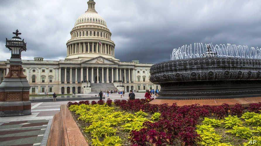 جانب من مبنى الكونغرس الأميركي