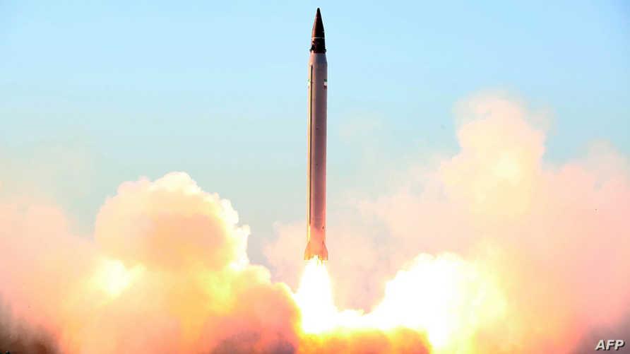 تجربة صاروخية إيرانية -أرشيف