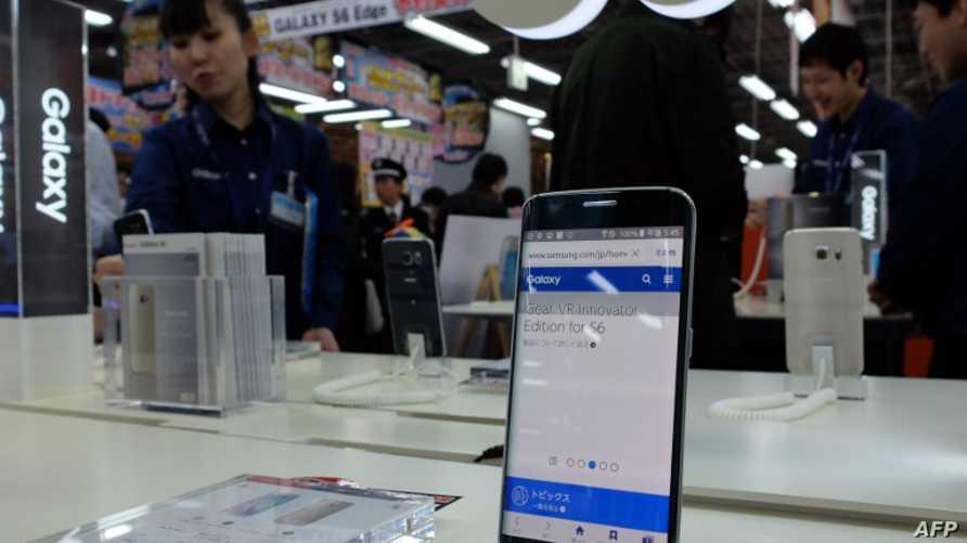 هاتف غالاكسي أس 6 إيدج من سامسونغ