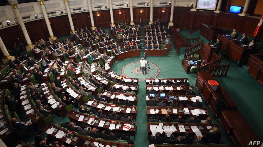 جلسة سابقة للبرلمان التونسي