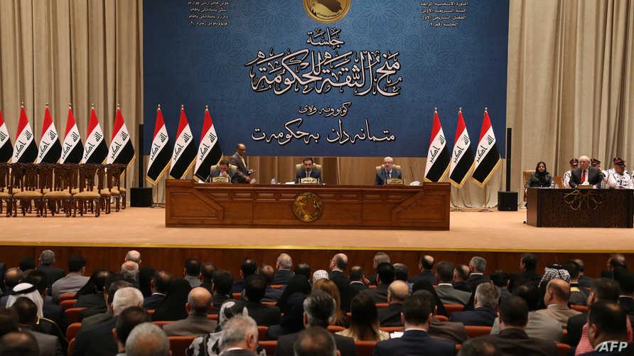 البرلمان العراقي يمنح الثقة لـ14 وزيرا ولم يحسم الأمر لثمانية وزراء بعد