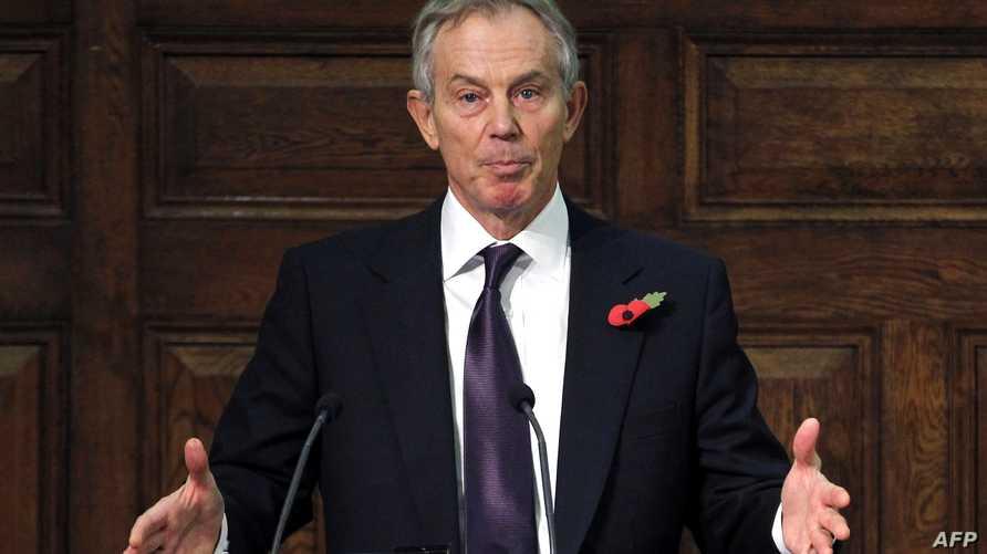 رئيس الوزراء البريطاني السابق توني بلير