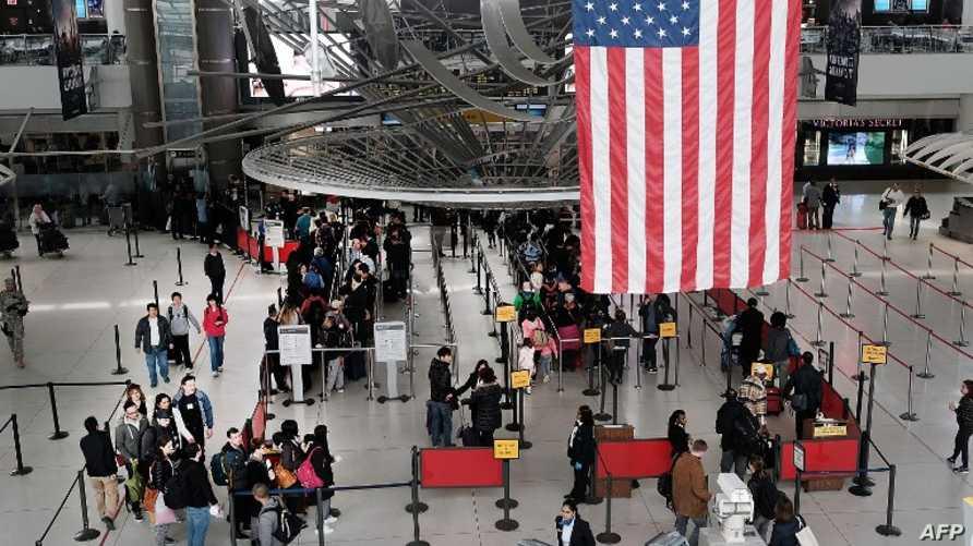 مطار جون ف. كينيدي في مدينة نيويورك