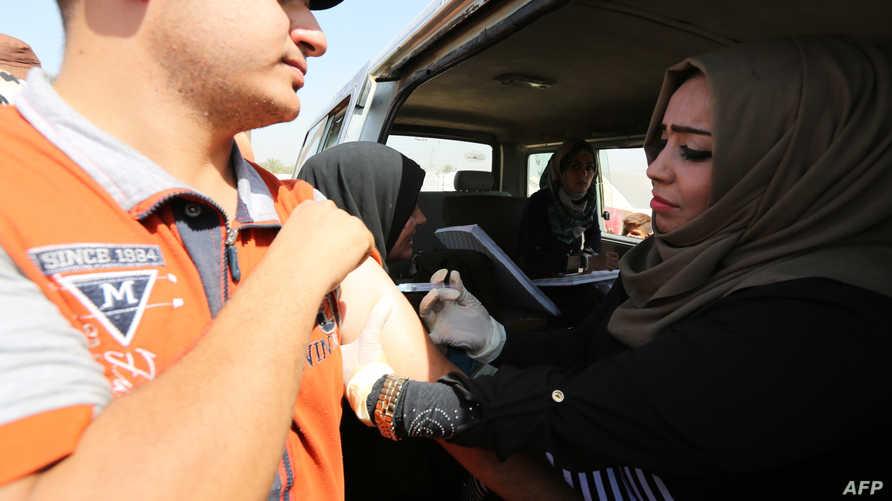 حملة للتلقيح ضد الكوليرا في العراق