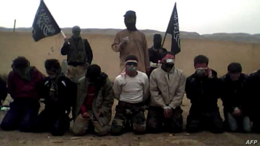 عناصر من جبهة النصرة في سورية