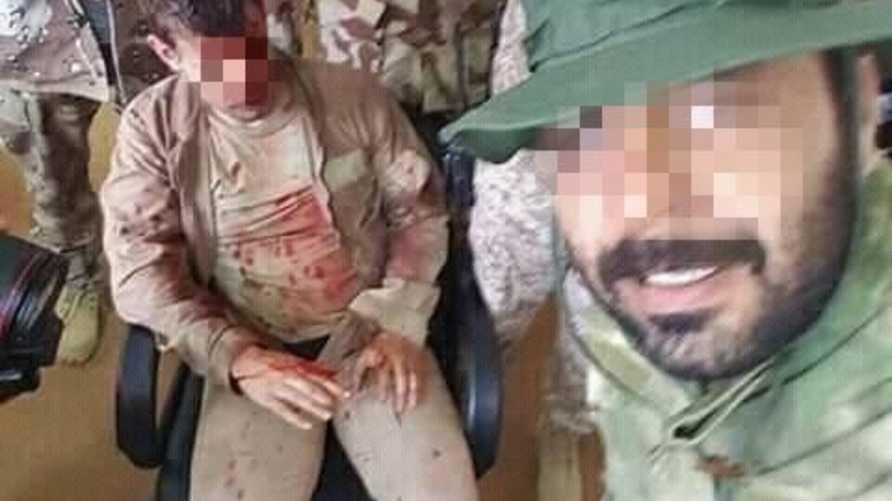 صورة قالت قوات حفتر إنها للطيار الموقوف