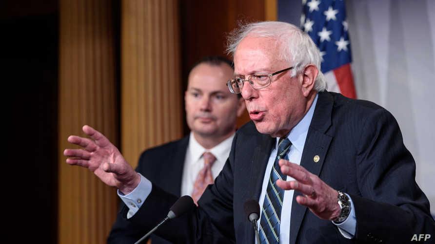 السيناتور بيرني ساندرز يختلف كليا عن ترامب في القضايا الداخلية لكن لا يختلف كثيرا في السياسة الخارجية