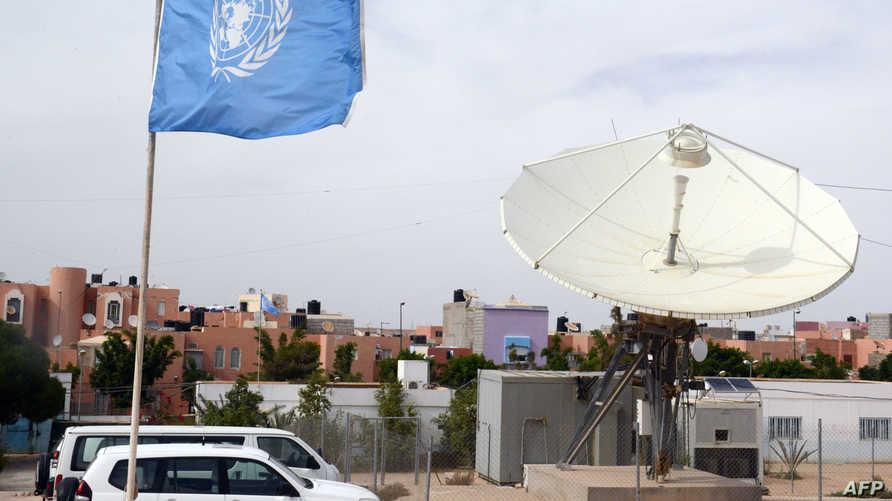 سيارات تابعة لبعثة الأمم المتحدة في الصحراء الغربية