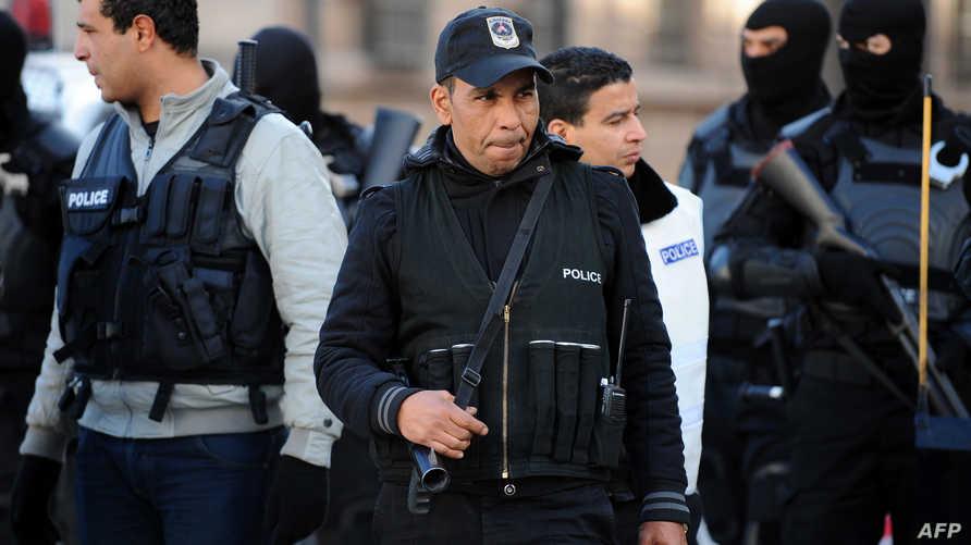 عناصر في قوات الشرطة التونسية- أرشيف