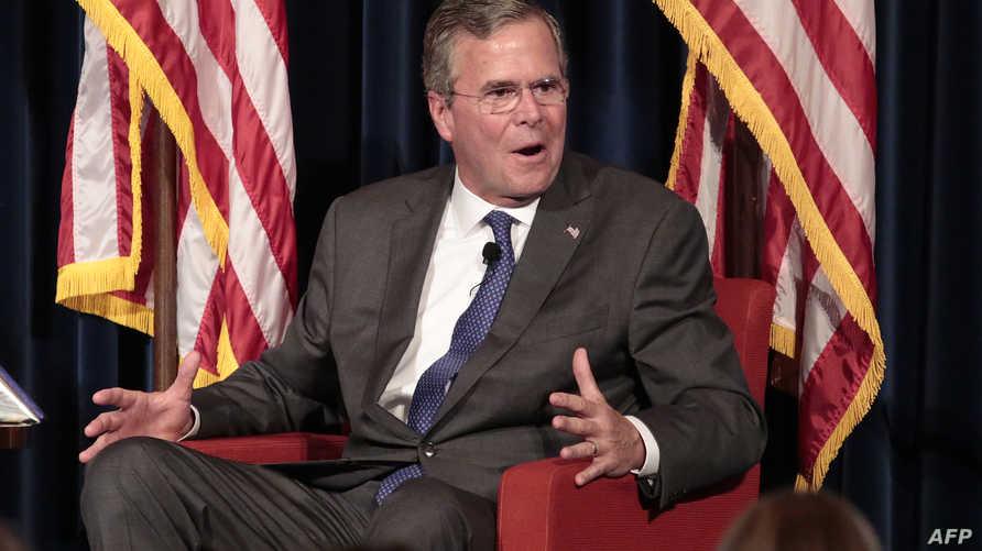 جيب بوش يتحدث في مكتبة ريغن