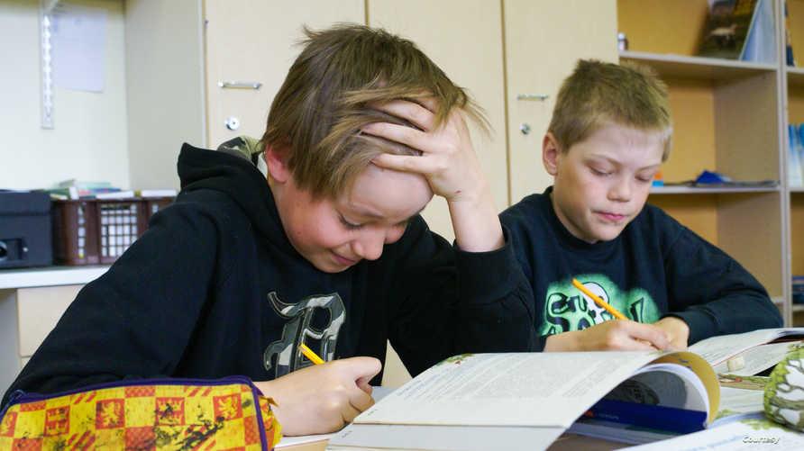 فصل دراسي بفنلندا