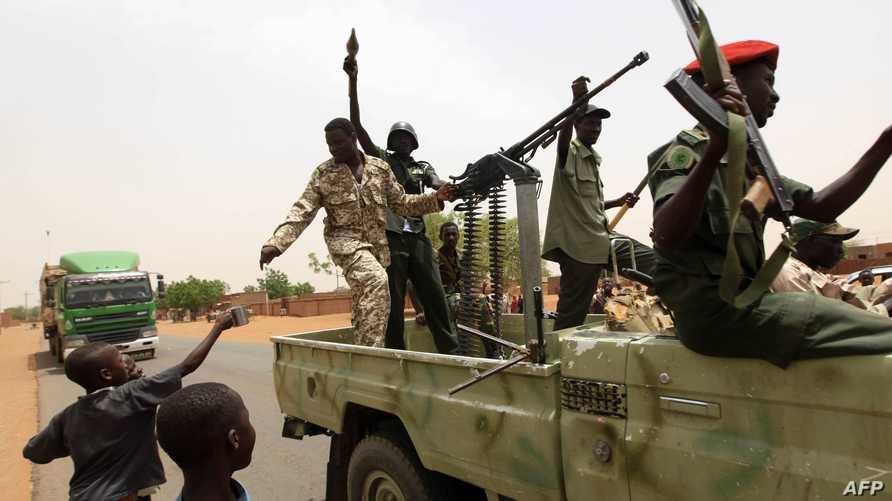 قوات سودانية في ولاية كردفان