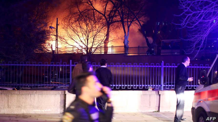 انفجار سابق في بتركيا