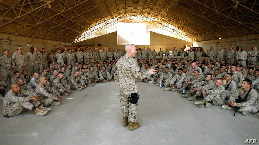 قوات من مشاة البحرية الأميركية- أرشيف