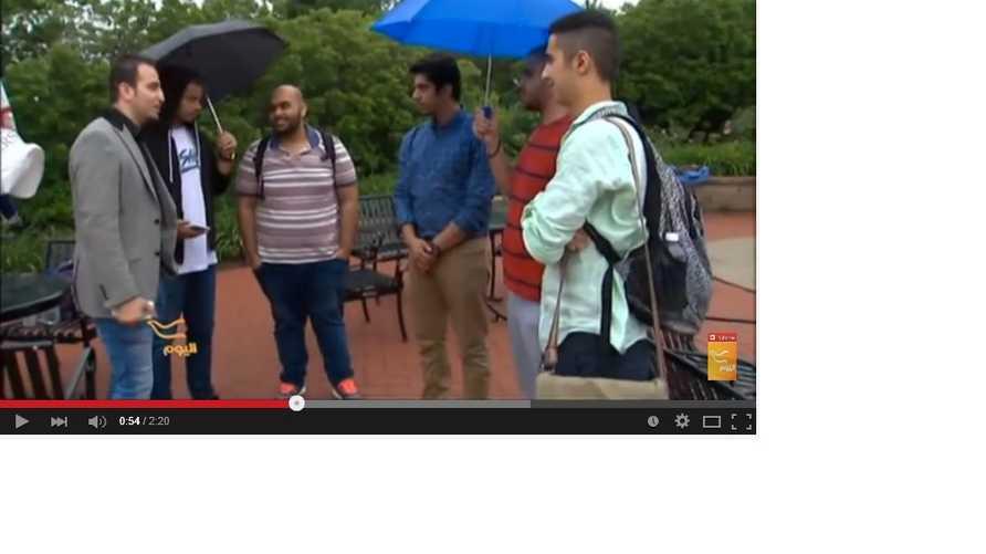 طلاب سعوديون في جامعة بيتسبورغ