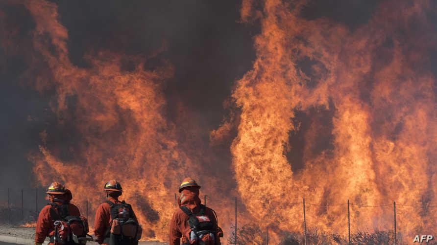 حريق سيمي فالي - كاليفورنيا