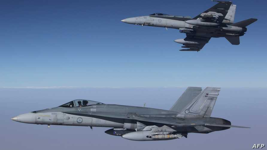 مقاتلتان أستراليتان لمحاربة داعش