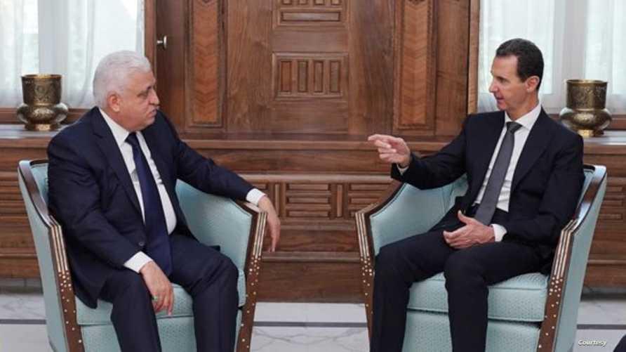 الأسد استقبل مستشار الأمن الوطني العراقي